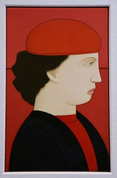 Andrew Stevovich, 'Woman Wearing a Red Hat', 2014