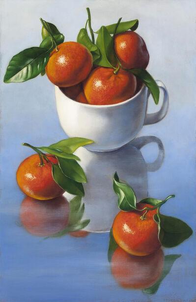 Denise Mickilowski, 'Mandarin Oranges with Cup', 2017