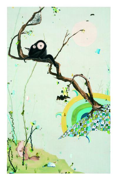 Laura Owens, 'Untitled', 2001