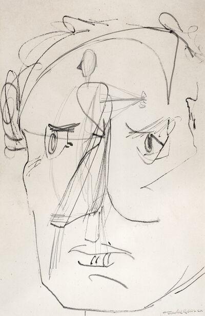 Jankel Adler, 'Self Portrait', ca. 1940