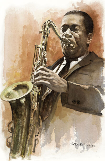 Victor Kalin, 'John Coltrane: Appeared in Love Supreme Album Revised ', 1986