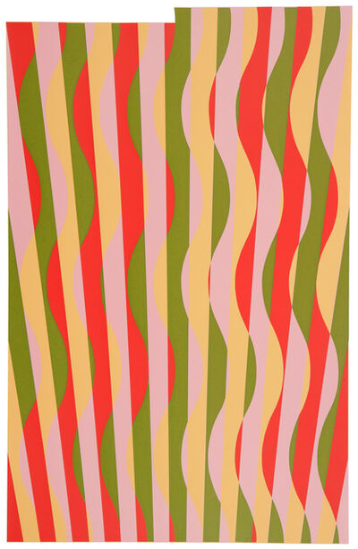 Michael Kidner, 'Red China', 1966