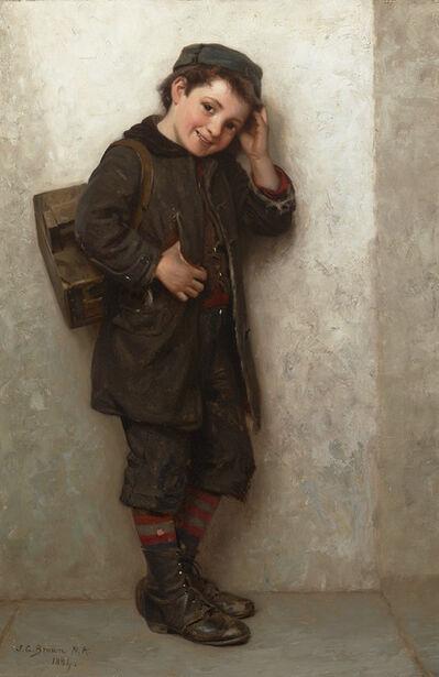 John George Brown, 'Shoeshine Boy', 1884
