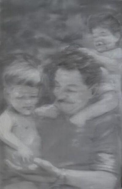 Jose Toirac, 'Raul Castro and his grandchildren, from the Alma Pater series', 2011