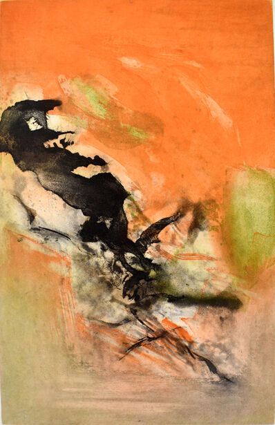 Zao Wou-Ki 趙無極, 'Composition II, from: Canto Pisan', 1972