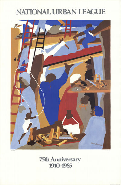 Jacob Lawrence, 'The Builders', (Date unknown)