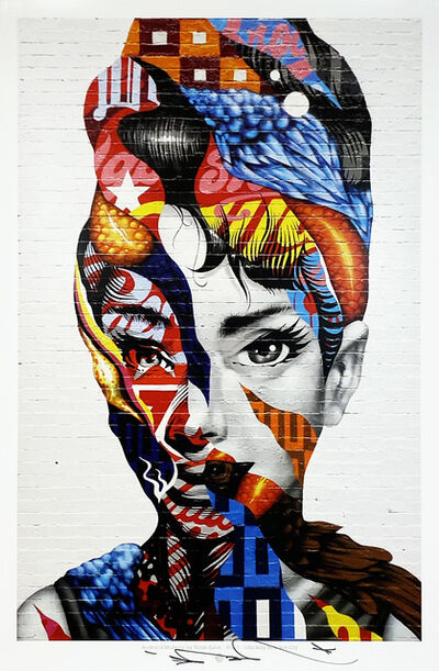 Tristan Eaton, ''Audrey of Mulberry' ', 2020
