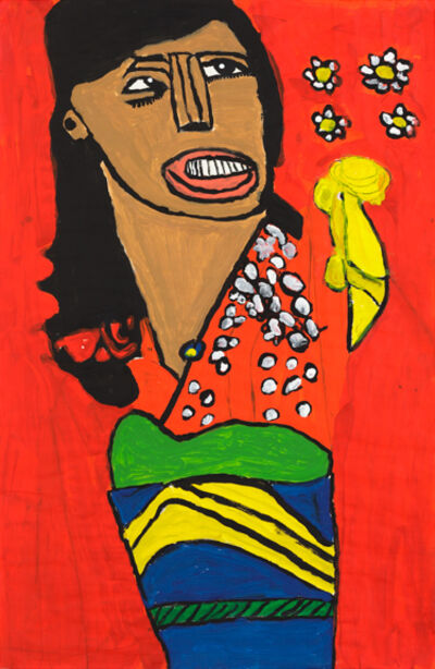 Thomas Pringle, 'Chinese Woman with Flowers', 2009