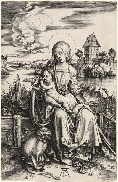 Albrecht Dürer, 'The Virgin and Child with the Monkey', ca. 1498