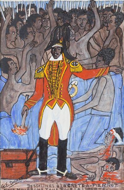 Gervais Emmanuel Ducasse, 'Dessalines A La Crete-A-Pierrot. Nous Mourrons Tou Pour La Liberte', ca. 1974