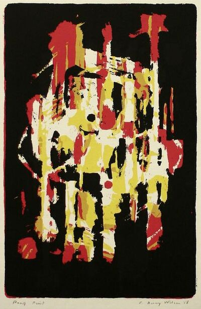 Frank Avray Wilson, 'Untitled abstract composition', 1956