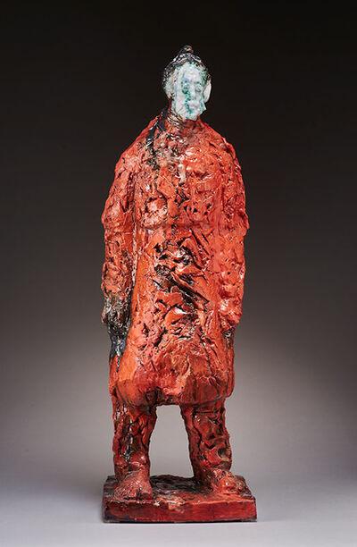 Wanxin Zhang, 'Red Coat', 2014