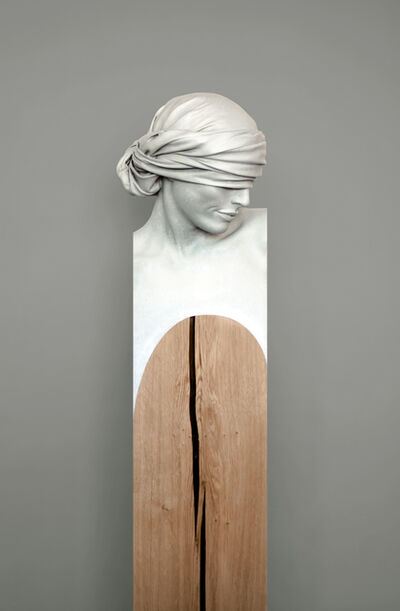 César Orrico, 'Edith Bronze (white patina) ', 2019
