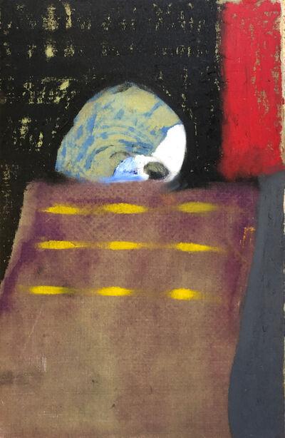 Ben Risk, 'Head of Man on the Train - (Nightshift)', 2018