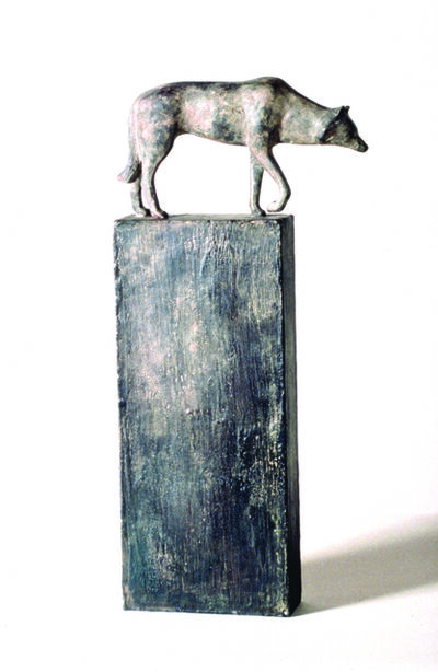 Gwynn Murrill, 'Wolf on Short Base', 2018