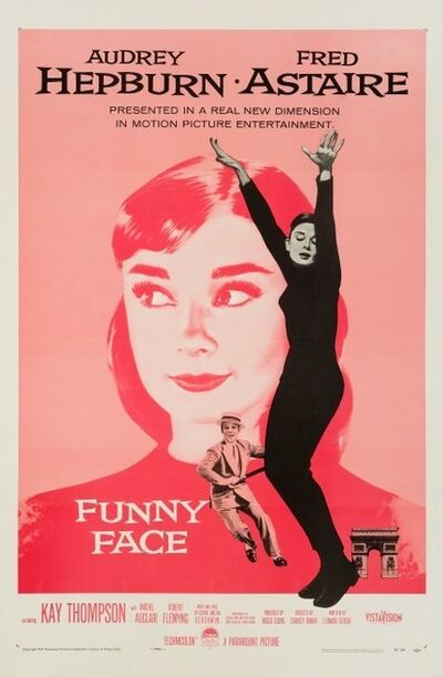 Film Poster, 'Funny Face', 1957