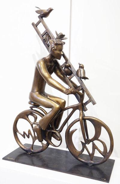 David Gerstein, 'Rider with Ladder', 2015