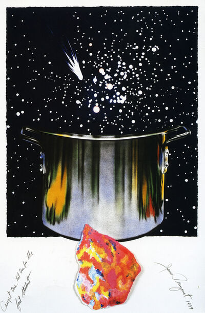 James Rosenquist, 'Caught One, Lost One, For the Fast Student', 1989