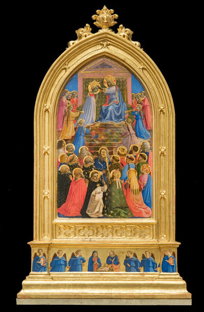 Fra Angelico, 'Coronation of the Virgin', 1424-1434