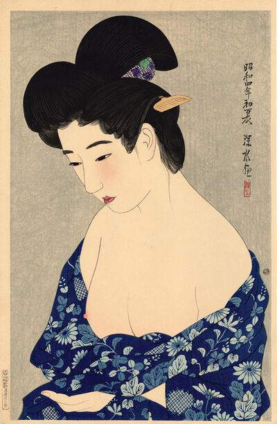Itō Shinsui, 'New Cotton Kimono', 1929