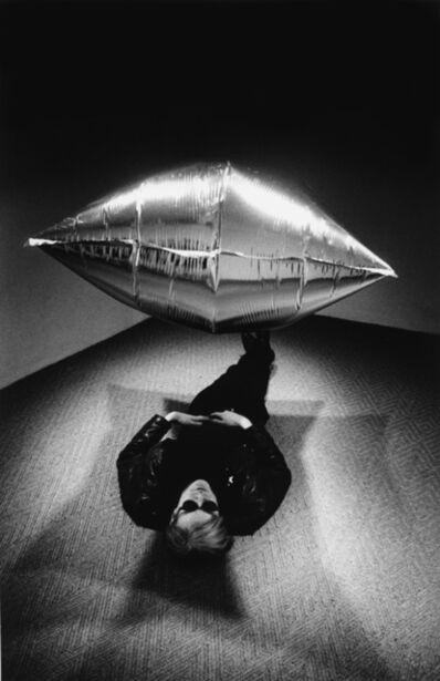 Steve Schapiro, 'Warhol under silver cloud pillow', 1965