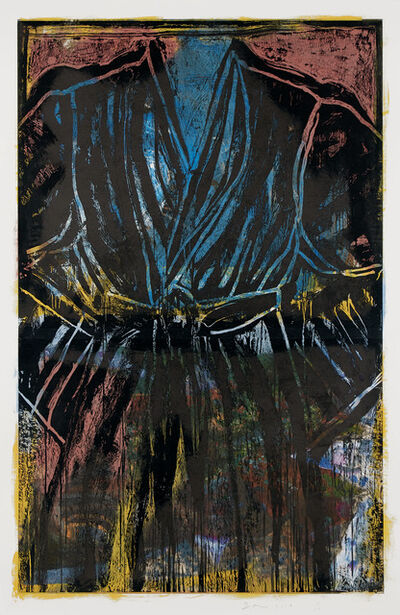 Jim Dine, 'Painting with the Carver', 2019