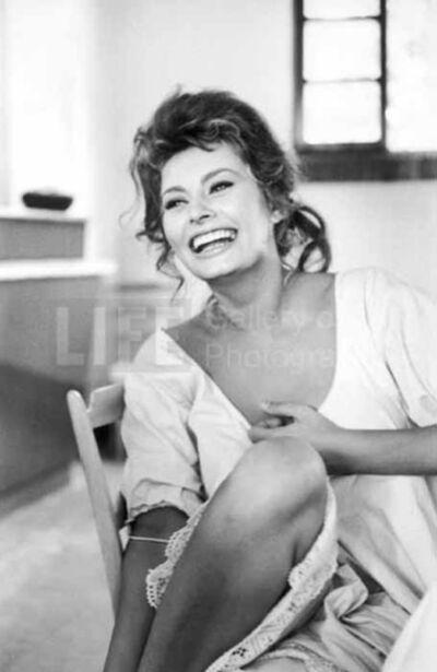 "Alfred Eisenstaedt, 'Sophia Loren in ""Madame""', 1961"