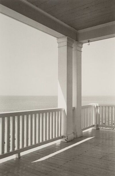 George A. Tice, 'Porch, Monhegan Island, Maine', 1971