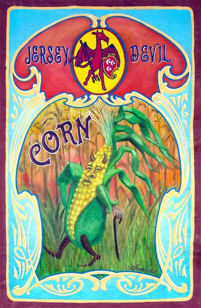 """molly mcguire, '""""Jersey Devil Brand Corn""""', ca. 2018"""