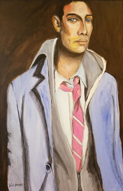 Vian Borchert, 'Man with a Pink Tie', ca. 2007