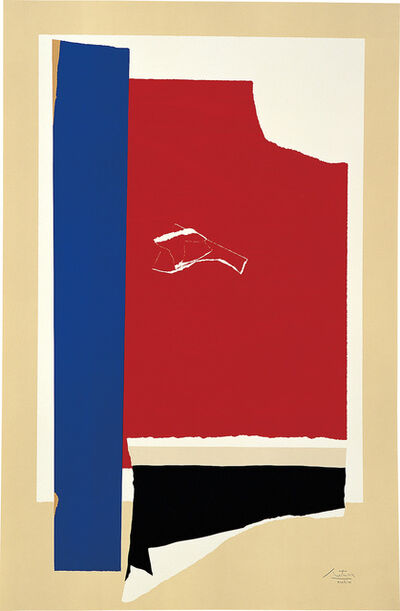 Robert Motherwell, 'On the Wing', 1984