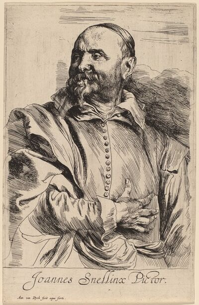 Anthony van Dyck, 'Jan Snellinx', probably 1626/1641