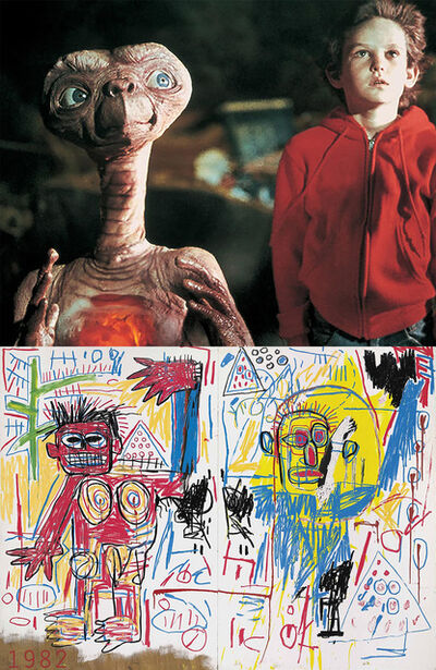 Bonnie Lautenberg, '1982, ET - Basquiat, Untitled 1982', 2018