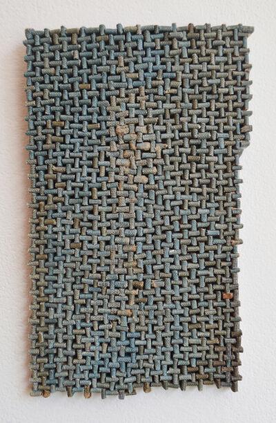 Erin Walrath, 'Blue Weave Sketch 1', 2018