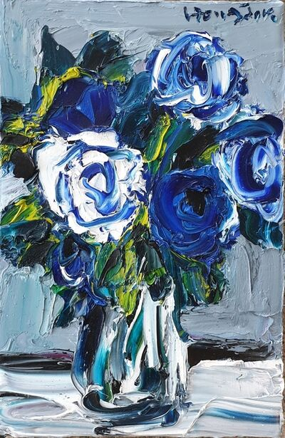 Hong-jik Shin, 'Blue rose', 2020