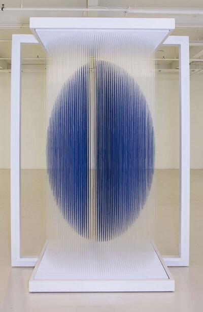 Jesús Rafael Soto, 'Ovoide Virtual Cobalto ', 1999