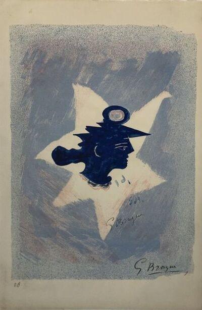 Georges Braque, 'Tête grecque ', ca. 1960