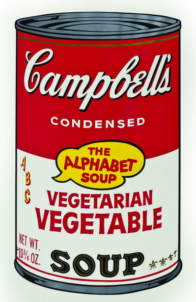 Andy Warhol, 'Soup Can, Vegetarian Vegetable', 1964