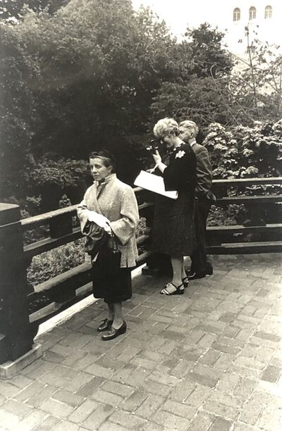 James Mitchell, 'Japanese Tea Garden, San Francisco ', 1960