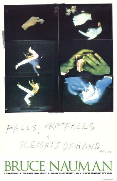 Bruce Nauman, 'Falls, Pratfalls + Sleights of Hand', 1994