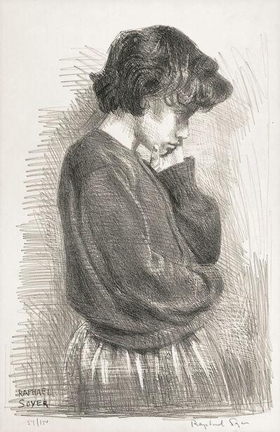 Raphael Soyer, 'Adolescence'