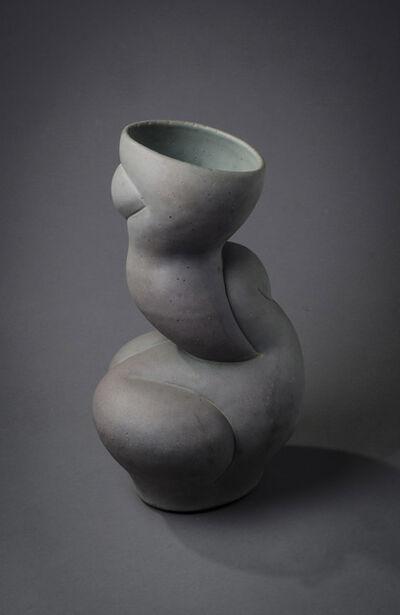 Chris Gustin, 'Abstract Vase in Verdigris', 1986
