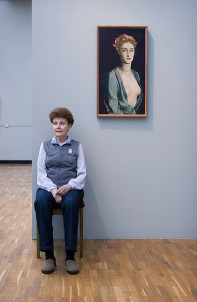 Andy Freeberg, 'Guardians: Altman's Portrait of I.P. Degas, State Tretyakov Gallery'
