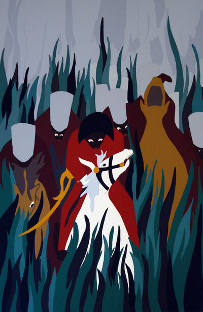 Jacob Lawrence, 'The Capture', 1987