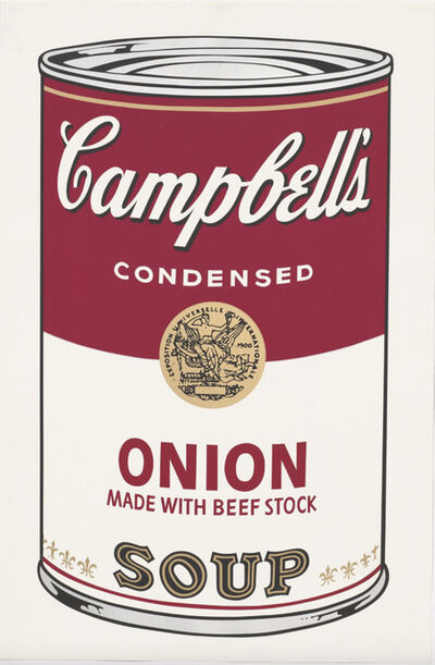 Andy Warhol, 'Campbell's Onion Soup', 1968