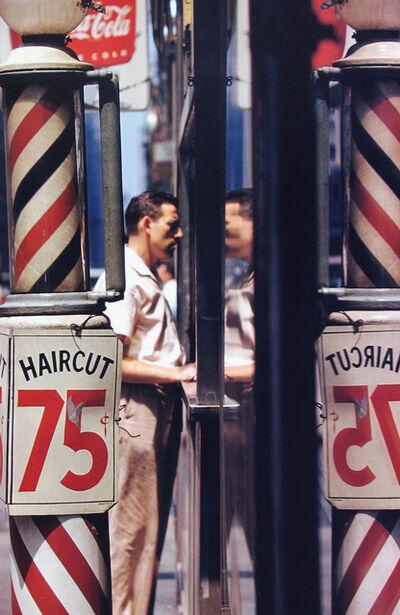 Saul Leiter, 'Haircut', 1956