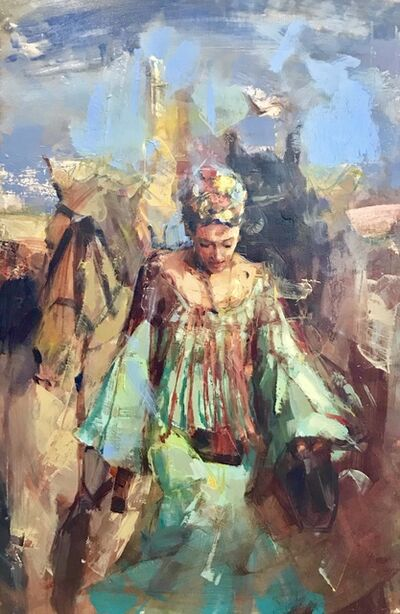 Jean-Bernard Lalanne, 'Flamenca, el RocÍ_o', Contemporary