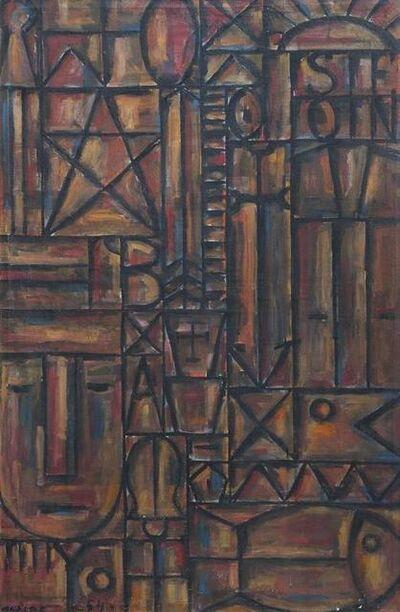Gastón Olalde, 'Constructivo', 1954