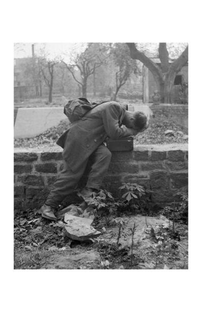 Tony Vaccaro, 'Defeated Soldier, Frankfurt, Germany, 194'