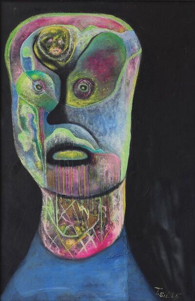 Thomas Sills, 'Blue Head', 1956